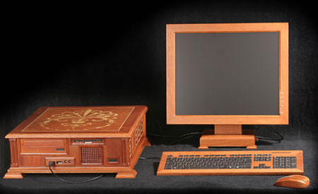 Russian Wooden PC Case Mod