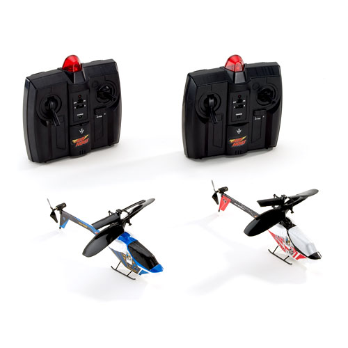 Air Hogs RC Remote Control Infrared Laser Battle Helicopters