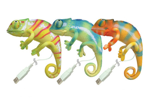 USB Chameleon Pet Lizard