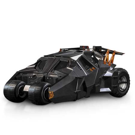 Tyco 1:6 Scale Batman Begins Tumbler Batmobile R/C Vehicle