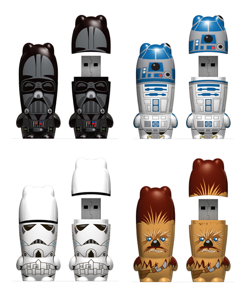 gadgetmadness mimoco star wars mimobot usb flash drives. Black Bedroom Furniture Sets. Home Design Ideas