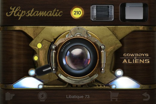 Hipstamatic: Matty ALN & Libatique 73 Lens with Steambox Case Cowboys & Aliens Freepak