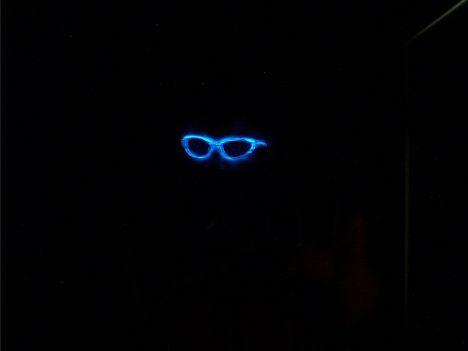 Sunglasses in the dark