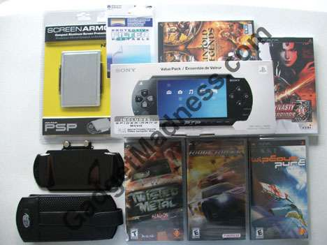 My PSP Gear from Electronics Boutique (EBX)