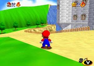Mario 64 demo running on Nintendo DS Nitro