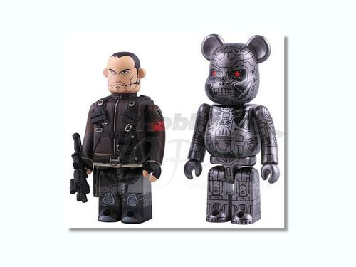 Medicom Kubrick Terminator Salvation John Connor & T 600