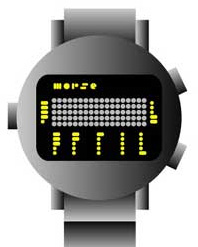 Morse Code Watch