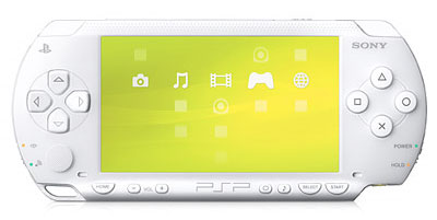 Sony PSP Value Pack (Ceramic White)