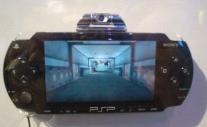 Photos of the PSP Camera accessory
