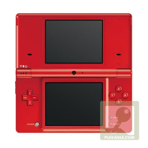 Red Special Edition Nintendo DSi