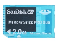 Sandisk PSP 2GB Memory Stick Duo
