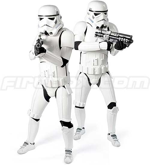 GadgetMadness 1:1 Star Wars Replica Stormtrooper Costume