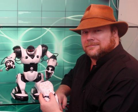(Hyper Cool) Interview with Robosapien creator Mark W. Tilden
