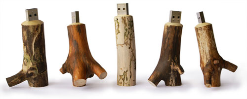 Oooms Handmade Wooden USB Stick