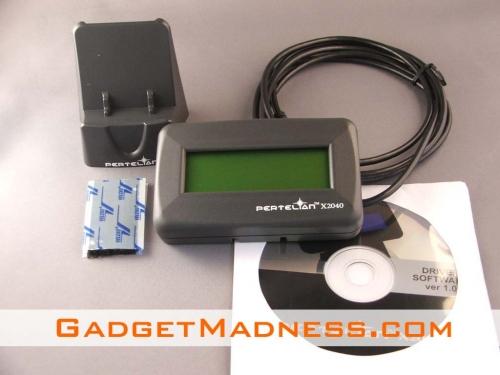 Pertelian X2040 LCD