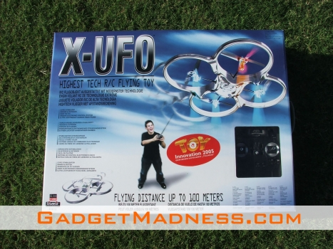 Review: Silverlit X UFO RC Flying Toy XUFO