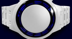 TOKYOFLASH White Acetate LED Watch