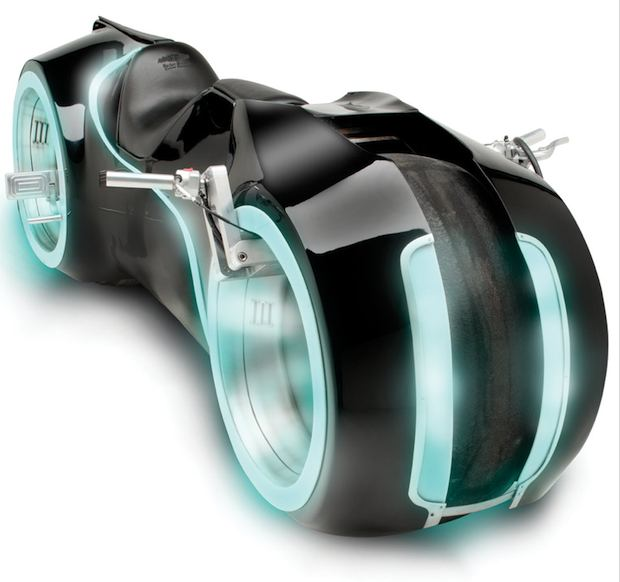Life Size TRON Legacy Light Cycle
