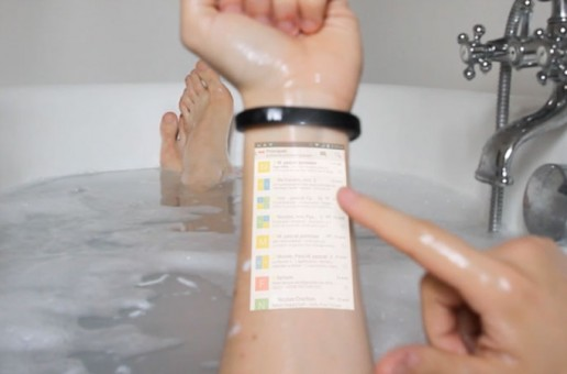 Turn your arm into a tablet with the Cicret Bracelet